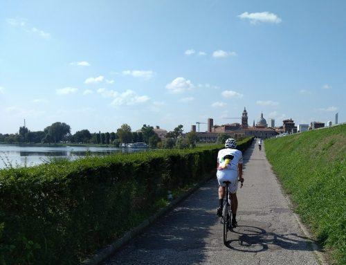 Mantova in bicicletta ..